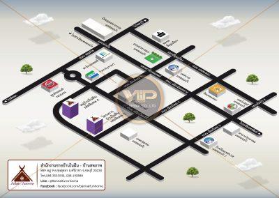 Preview Map - สำนักงานขาย บ้านในฝัน 2